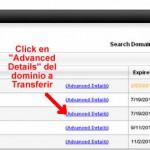 Como Transferir un dominio de Go Daddy a AQPhost