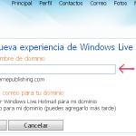 Configurar cuenta de correo con Windows Live