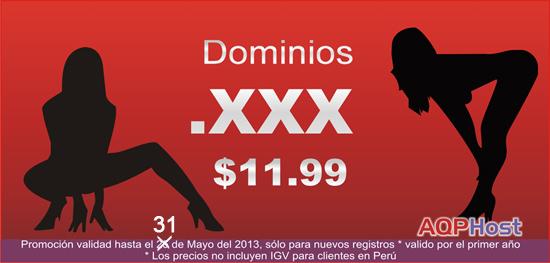 promoción dominios .xxx