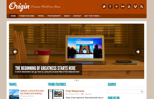 33 temas gratuitos para wordpress - AQP Hosting y DominiosAQP ...