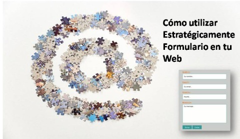 usar estrategicamente formulario web