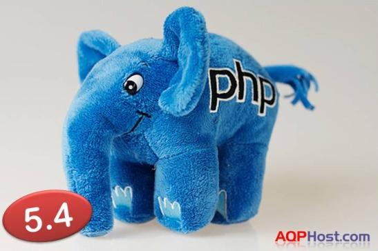 versión 5.4 de PHP