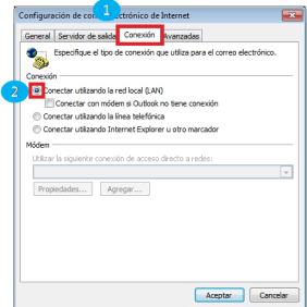 configurar conexion