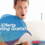 Ahorra con la promoción de Hosting Gratis de AQPHost
