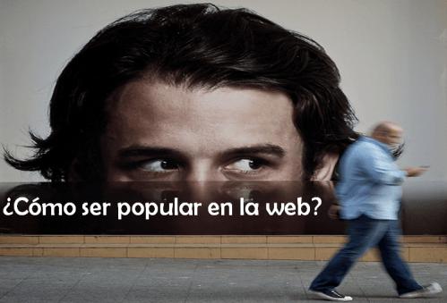 lecciones de popularidad web