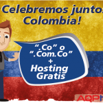 Hosting Gratis por registro de dominios .CO o Com.co