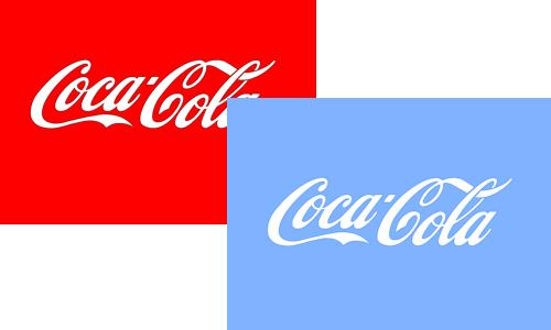 cocacola azul