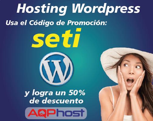 promoción hosting wordpress setiembre
