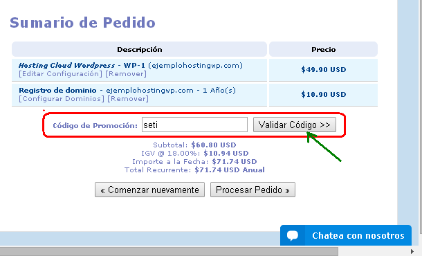 introducir codigo wp