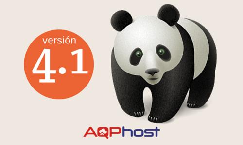 Nueva actualizacion panda