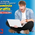Oferta Dominio Gratis por la compra de un Hosting Avanzado