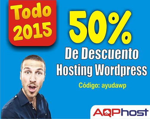 descuento hosting wordpress