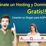 200 ganadores obtendrán hosting y Dominio gratis con AQP