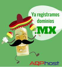 dominios .MX Aquí