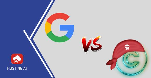 Google elimina la piratería