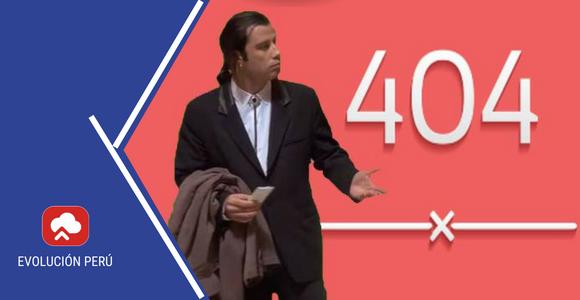 tipos de errores 404