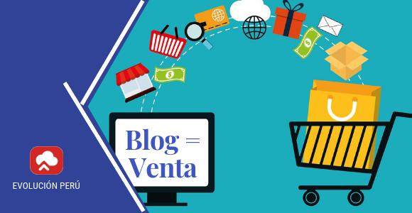 escribir Blog tienda online