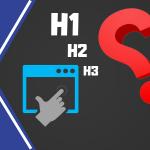 Para qué sirven las etiquetas H1 en una página